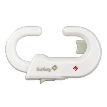 Снимка на Устройство за заключване на шкаф (1 бр./оп.) – бял цвят - ST-39094760